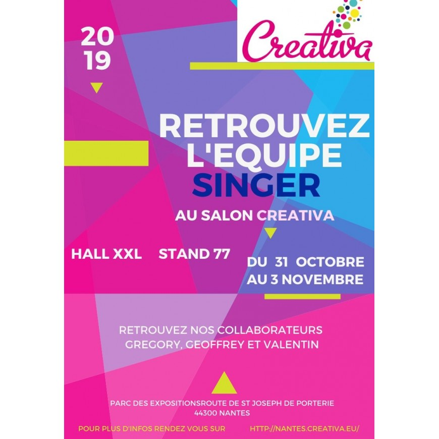 SALON CREATIVA A NANTES