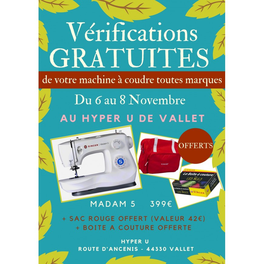 VERIFICATIONS GRATUITES AU HYPER U DE VALLET