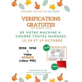 VERIFICATIONS GRATUITES AU PRESSING ARC EN CIEL DE LIGNE