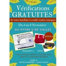 VERIFICATIONS GRATUITES AU HYPER U DE VALLET