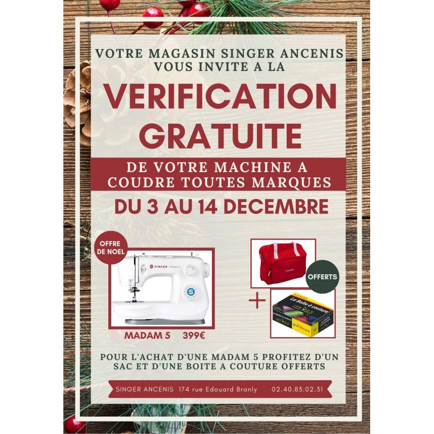 VERIFICATIONS GRATUITES AU MAGASIN D'ANCENIS DU 3 AU 14 DECEMBRE !